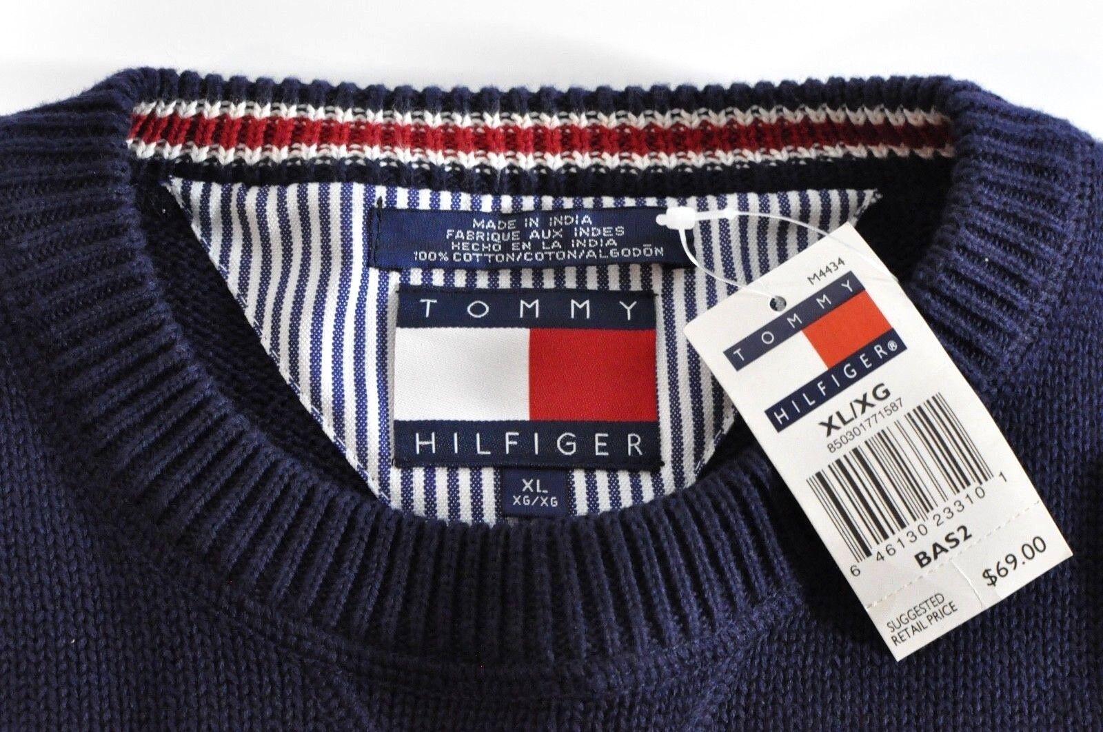 NOS Vintage Tommy Hillfiger Sweater  Herren XL