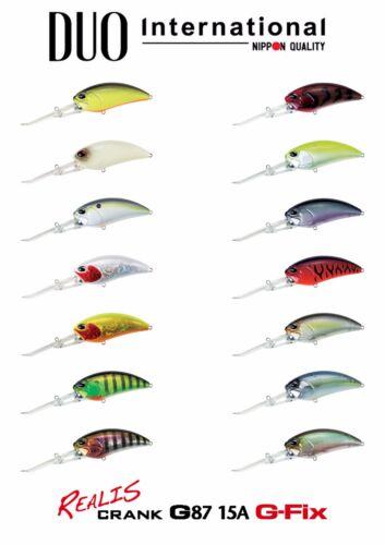 Select Color DUO Realis Crank G87 15A Deep Diving Crankbait Lure s
