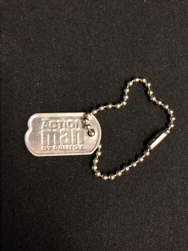 ACTION MAN 40th - DOG TAG & CHAIN