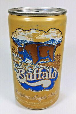 Vintage Buffalo Premium Lager Beer Pull Tab Beer Can Top ...