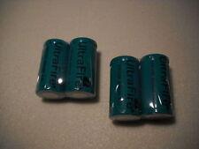 4x UltraFire CREE XML rcr123a cr123a de iones de litio de 3 voltios batería 3,0 voltios ICR