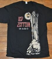 Led Zeppelin Black Adult Tee T-shirt Size With Tags