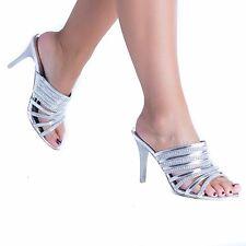432ac6cd720 item 3 Women s Ladies Slip On Open Toe Diamante Stiletto Heel Evening Party  Shoes Size -Women s Ladies Slip On Open Toe Diamante Stiletto Heel Evening  Party ...