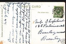 Genealogy Postcard - Ancestor History - Shepsherd - Burnley  A3457