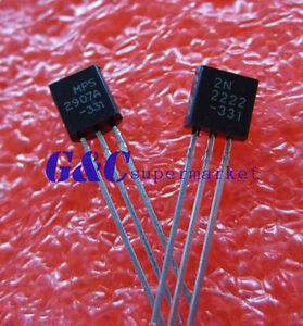 1000PCS-Transistor-TO-92-2N2907-2N2907A-NEW