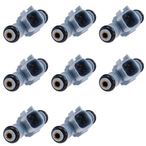 Set of 8 Fuel Injector Nozzle Flow Matched For Dodge Dakota 4.7L V8 #0280155849