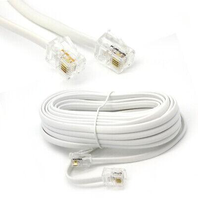 RJ11 UK to US Female ADSL Broadband Internet Modem Telephone BT Cable Extension