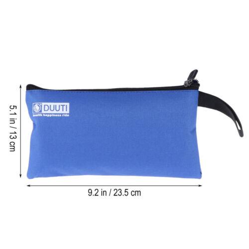 5pcs Repair Tool Multi-purpose Canvas Zipper Pouches Bag Organize Storage Bags