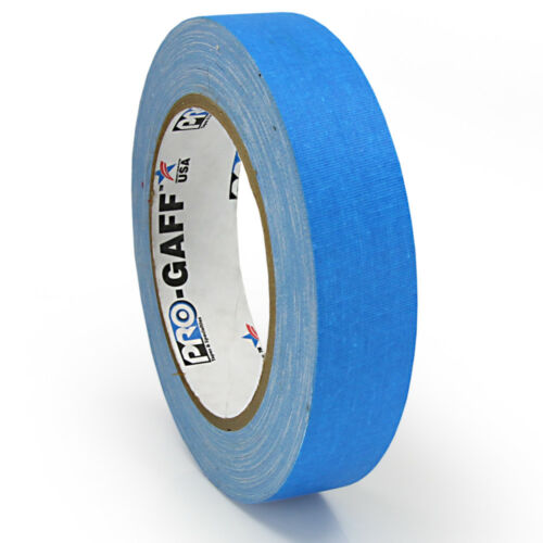 ProTapes//Permacel 24mmx25 ya Fluorescent Gaffer Cloth Tape Various Colours