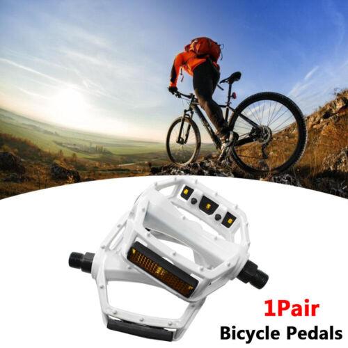 DX Style 9//16 Alloy Mountain Bike Bicycle BMX Mtb Flat Platform Pedals Anti-Slip