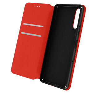 Cuir synthétique Cover Classic Edition, Klappetui pour Sony Xperia 10 III – Rouge