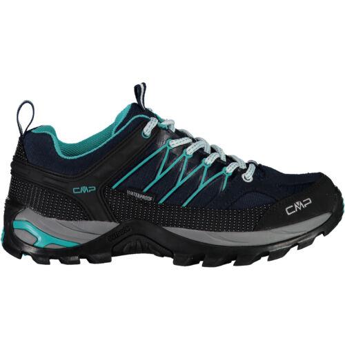CMP Femmes Trekking Chaussures outdoorschuh Rigel Low Wmn Trekking Shoe WP bleu foncé