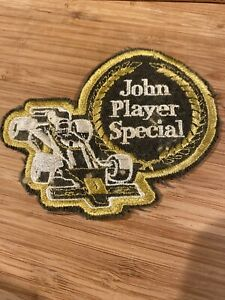 Vintage-Sew-on-Patch-John-Player-Special-Formula-One-Car