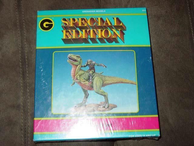 Grenadier Fantasy Models (Special Edition) 1991 - Lizard King - T-Rex (SEALED)