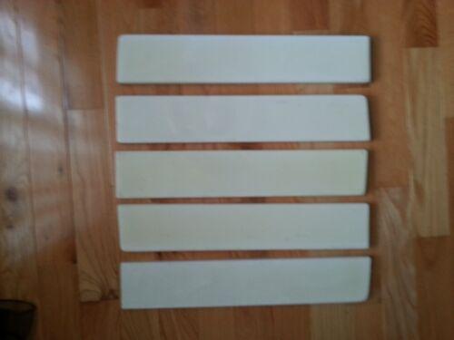 "Cultured marble side splash 21/""x4/""x3//4/"" Ivory"