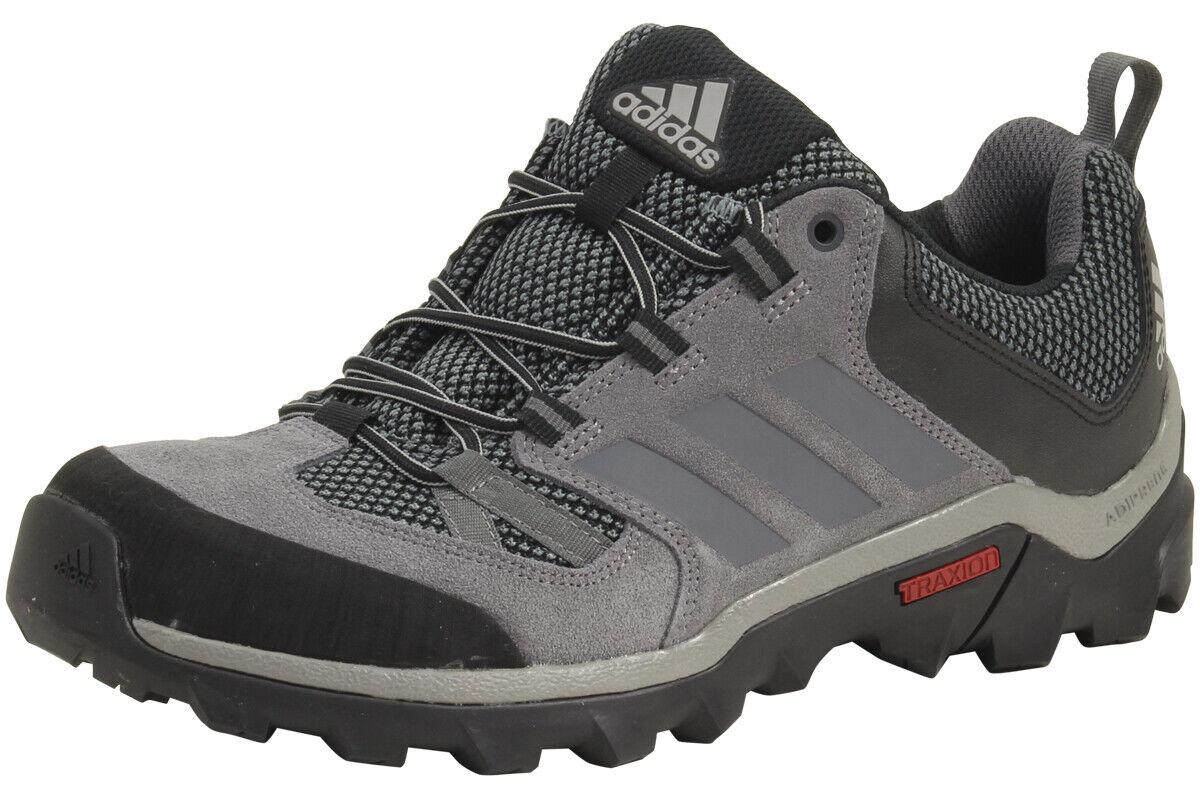 Adidas Herren Caprock Granit   Vista Grau Schwarz Wandern Turnschuhe