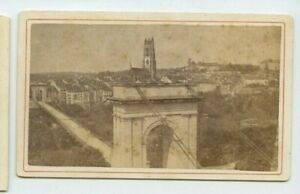 Vintage-CDV-Statue-of-Fribourg-Switzerland
