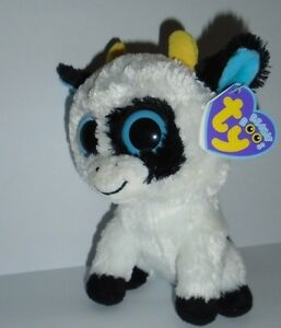 TY BEANIE BOO - DAISY THE COW - ORIGINAL SEREIS WITH PURPLE TAG -NEW ... 4af2c9485af