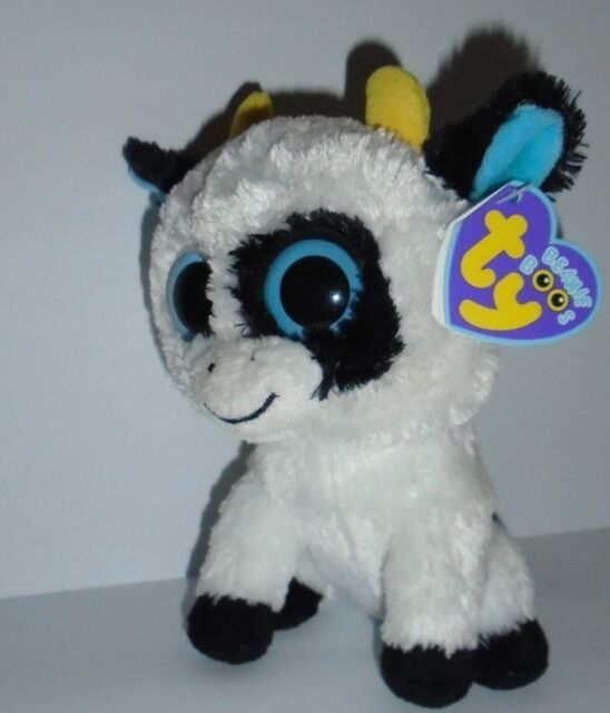 dcfd953516f TY BEANIE BOO - DAISY THE COW - ORIGINAL SEREIS WITH PURPLE TAG -NEW