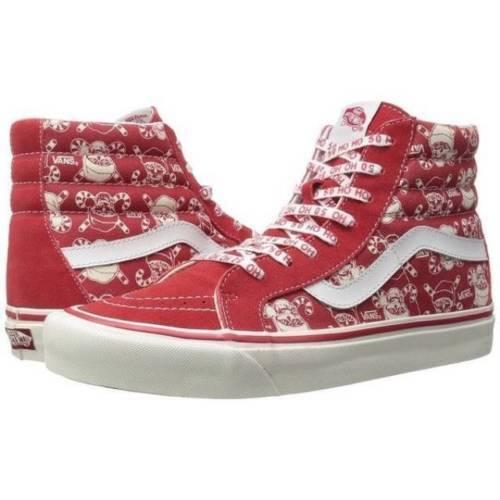 cc222bff41 VANS Sk8 Hi 38 Reissue 50th Stv pirate Santa red Men s Skate Shoes Size 9.5  for sale online