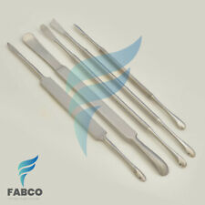 5 Periosteal Set Dental Elevator Surgical Instruments