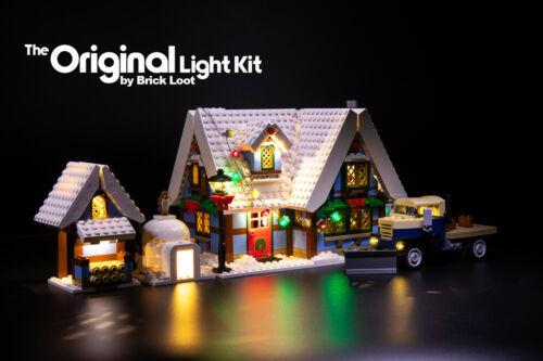 LED Lighting Kit for LEGO ® Winter Village Cottage set 10229
