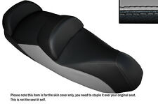 BLACK /& RED VINYL CUSTOM FITS PIAGGIO MP3 YOURBAN LT 300 DUAL SEAT COVER ONLY