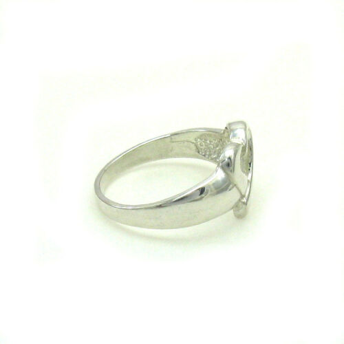 Sterling silver ring coeur solide 925 Taille G-Z R000118 EMPRESS