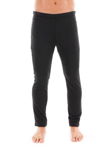 CMP Fleecehose Short Pantalon Noir Taille Élastique Respirante
