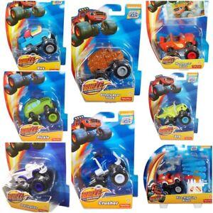 Fisher-Price-Nickelodeon-Blaze-y-el-monstruo-maquinas-Diecast-Surtido