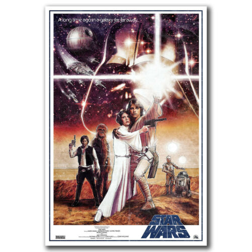 STAR WARS A NEW Hope Movie Art Hot 12x18 24x36in FABRIC Poster N2798