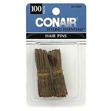 Conair Styling Essentials Hair Pins, Bronze 100 ea