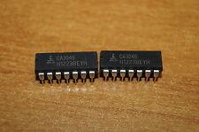 2 x CA3046 Intersil DIL 14 Circuit intégré IC (transistor array) NEW