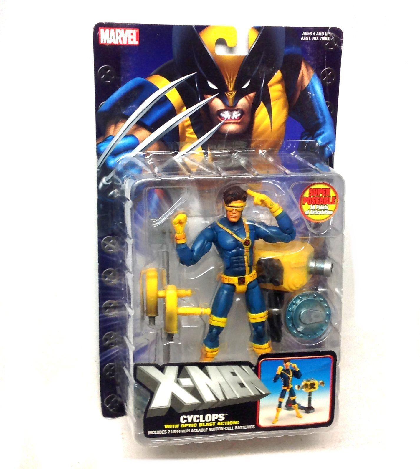 Marvel  Legends  X Men Classic Jim Lee style CYCLOPS 6  figure RARE, box Damaged