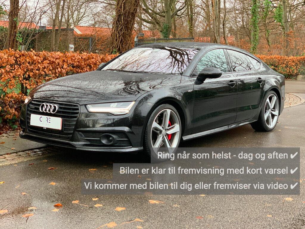 Audi A7 3,0 TDi 326 Sportback quattro Tiptr. 5d - 3.700 kr.