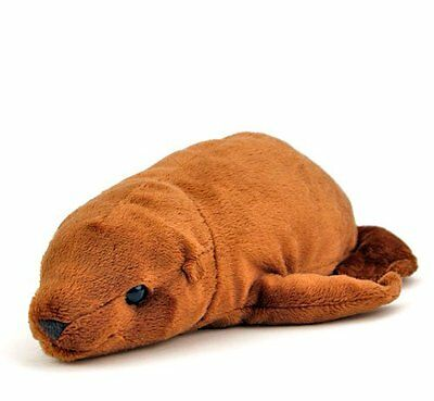 COLORATA Plush Stuffed Animal Sea Lion lying Japan