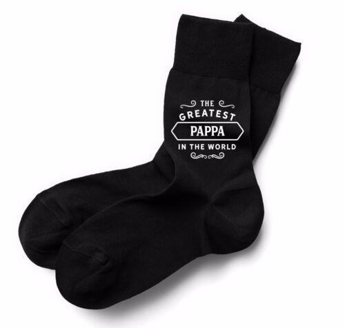 Pappa Chaussettes Cadeau D/'Anniversaire Plus Présent Idée Garçon Papa Lui Hommes Chaussette Noire