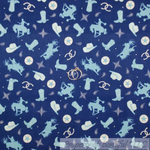 BonEful Fabric FQ Cotton Quilt Brown Cream Dog Bone Small Pattern Print Calico S