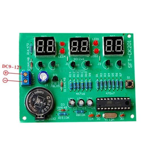 DIY Kit Module 6 Digital LED Electronic Clock Panel Parts Boys Room Cool Decor a
