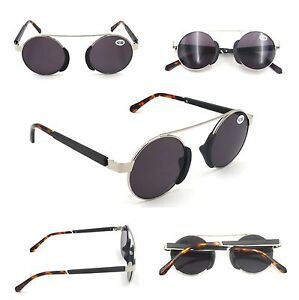 9425072205a1 High Quality Metal   Acetate Round Frame Fashion Sun Readers Metal ...
