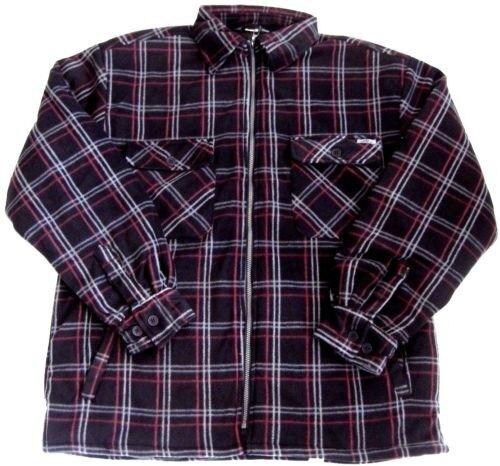 Ivalo Thermohemd Giacca Foderato Giacca Jacket nero a quadri XL 54 BMT B
