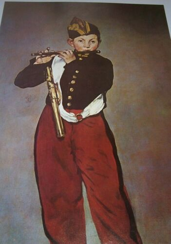 THE FIFER Edouard Manet Color Print French Artist Boy in Uniform