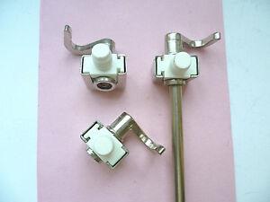 2 Stück M52 x 1,5mm GB812 Vier-Schlitz Schlitzrundmuttern für Hakenschlüssel