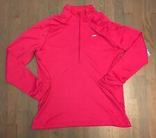 Koppen Pink Pullover 1/2 Zip Athletic Shirt Jacket Running Sport Woman's XL NEW