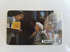 Telefonkarte - Frankreich Telekom - A Die Parlerez Vous Heute (A8119)