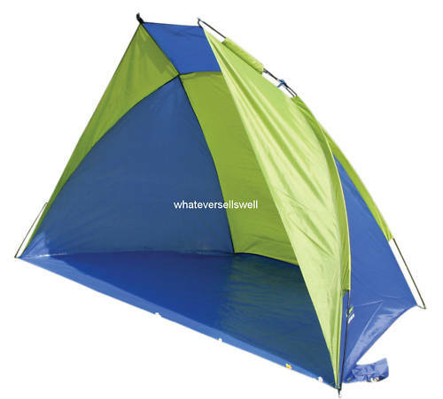 TENT SHELTER beach sun rain wind windbreak predection