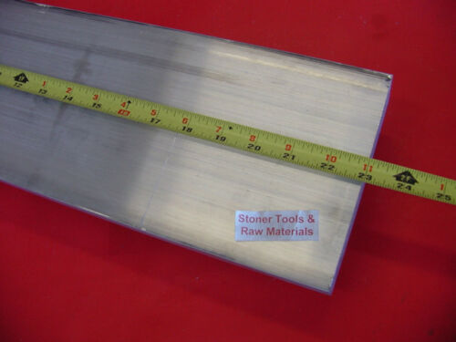 1-1/2 X 6 ALUMINUM 6061 FLAT BAR 23 long SOLID T6511 1.500 Plate Mill Stock