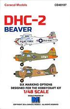 Caracal Decals 1/48 DE HAVILLAND DHC-2 BEAVER
