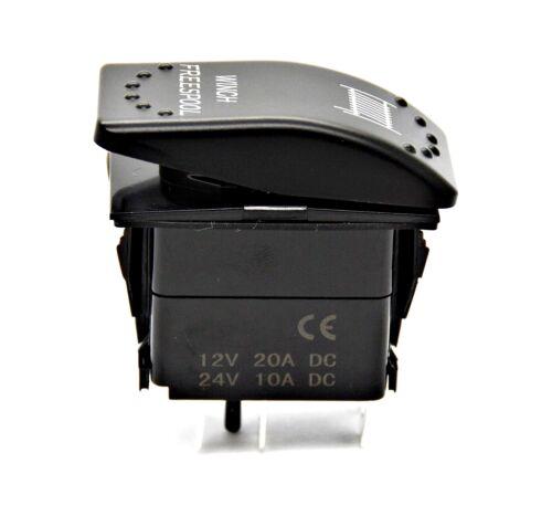 Rocker Switch Work Light Work Lamp LED 12V 24V Switch Car Boat Tilt