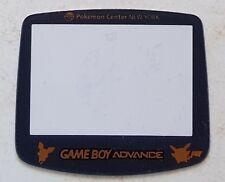 Ecran / Vitre Edition Pokémon Center Game Boy Advance, Gameboy GBA - Screen NEUF
